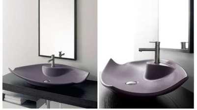 Cuartos de baño: lavabos de colores
