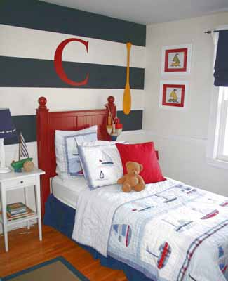 ... Decorating Ideas For Kids Rooms Nautical Bedroom Decor ...