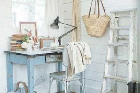 home office decor vintage style 13