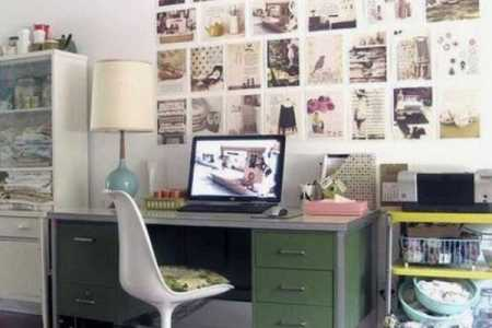home office decor vintage style 6