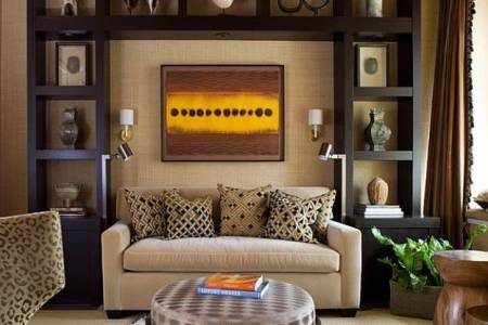 african decorating ideas modern living room