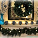 blue mantel
