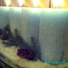 sparkly candles