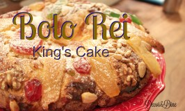 Chocolate King's Cake/Bolo Rei de Chocolate