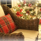 DIY holiday pillow