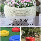 Top 5 DIY Repurposed Tires