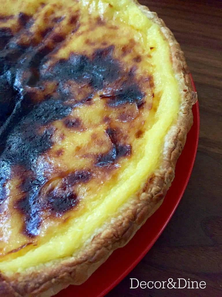 custard tart pie