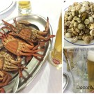 crab, snails and beer...oh my