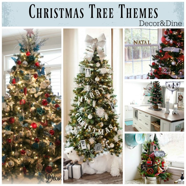 Christmas tree themes