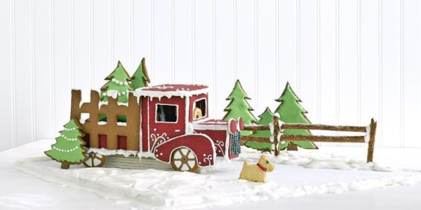Gingerbread Pickup Truck