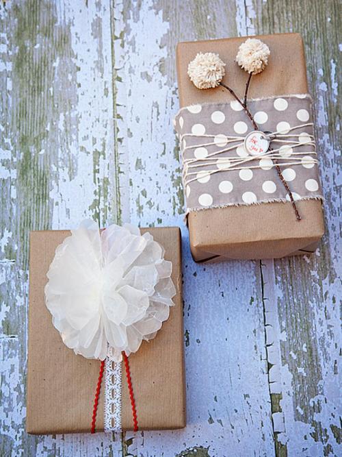 Christmas Gift Wrap Idea