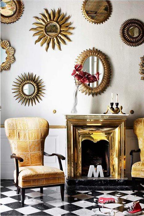 Espejos sol una dorada tentaci n decorarmicasa blog - Espejos de sol ...