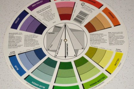 complementary color scheme interior design viewing gallery