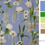 Easy Color Schemes Born From Fabric