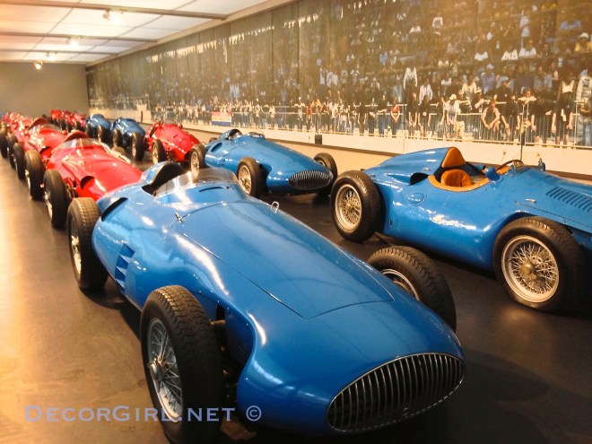 Race cars from Mulhouse Museum