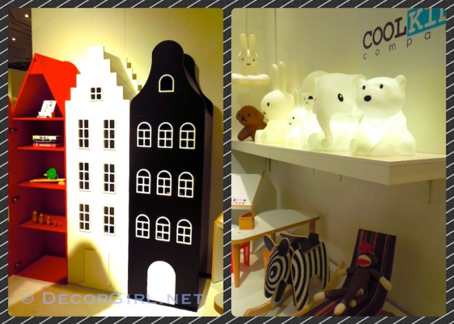 Cabinets and lighting for kids
