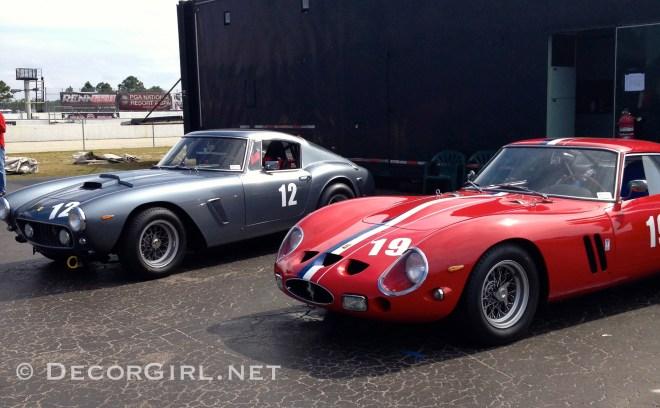 Ferrari 250 SWB and 250 GTO