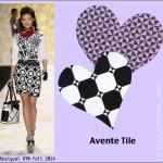Fashion Week + Valentine's = Tile Love