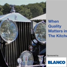 Blanco When Quality Matters