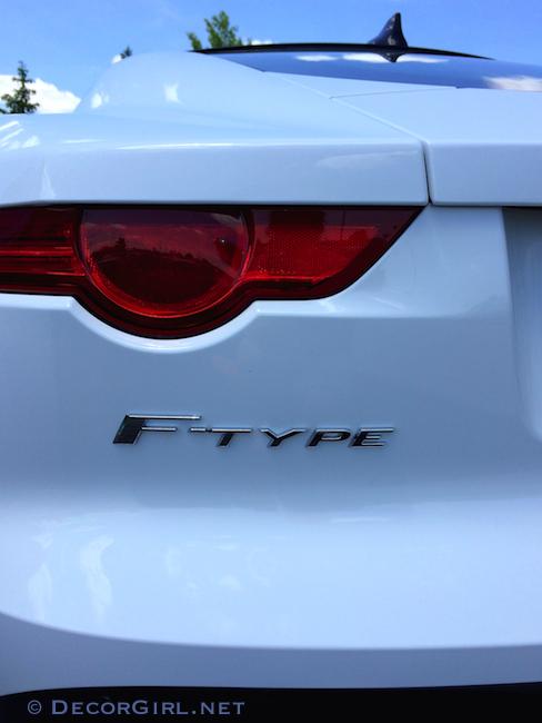 Jaguar F-Type R close up