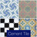 Do You Realize How Awesome & Colorful Cement Tile Can Be?