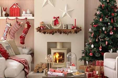 top christmas holiday decorating ideas living room