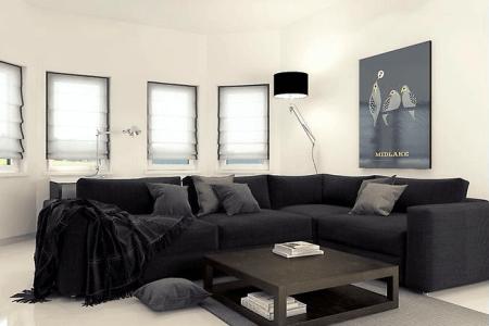 online interior design minimalist living room mladen