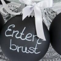 Unsere Festtafel zu Weihnachten - ein Probelauf für die Tischdekoration