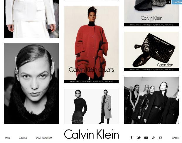 Calvin Kleinのtumblrブログ