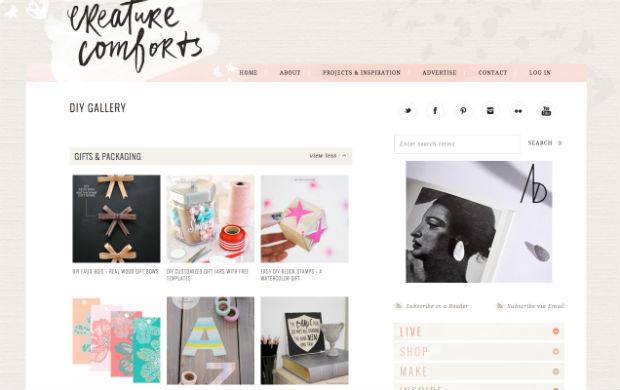 DIYブログCreature Comforts