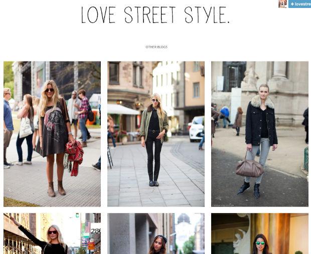tumblrファッションブログLOVE STREET STYLE.