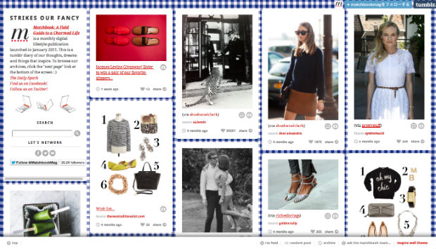 tumblrファッションブログStrikes Our Fancy