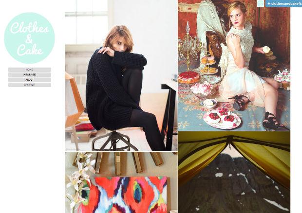 tumblrファッションブログClothes & Cake