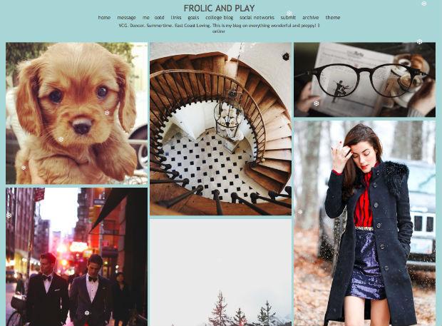 tumblrファッションブログFROLIC AND PLAY