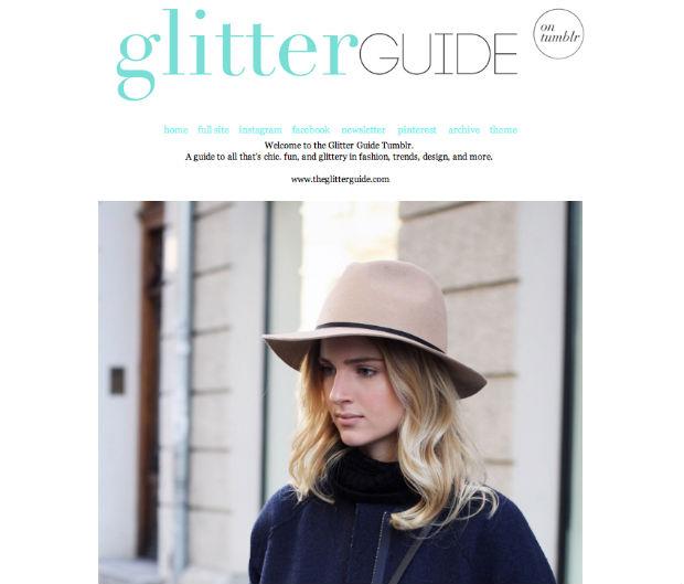 tumblrファッションブログThe Glitter Guide