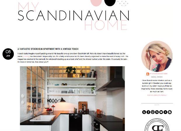 北欧インテリアブログ「my scandinavian home」