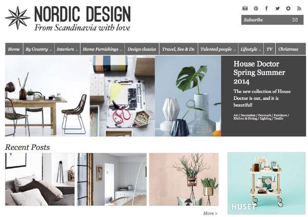北欧インテリアブログ「Nordic Design」