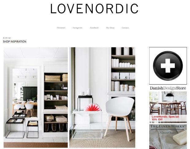 北欧インテリアブログ「LoveNordic Design Blog」