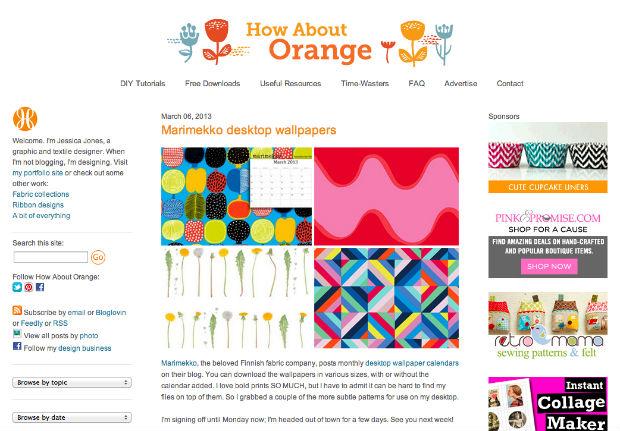 How About Orangeの壁紙