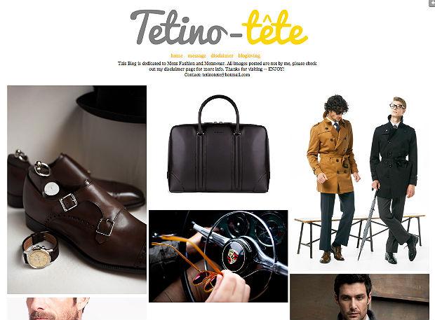 メンズファッションブログTetina-tete