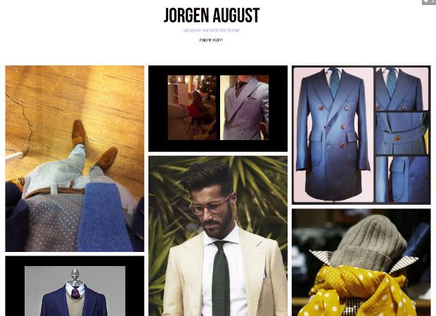 メンズファッションブログJorgen Augus