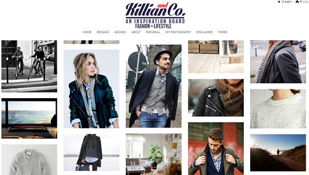 メンズファッションブログKillian & Co