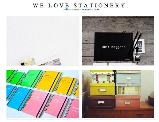 WE LOVE STATIONERY.