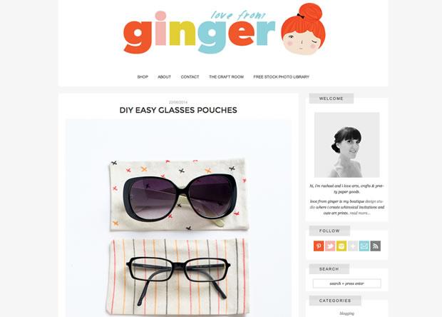 ブログLove From Ginger