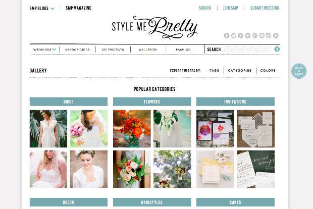 海外ウェディングサイト「Style Me Pretty」