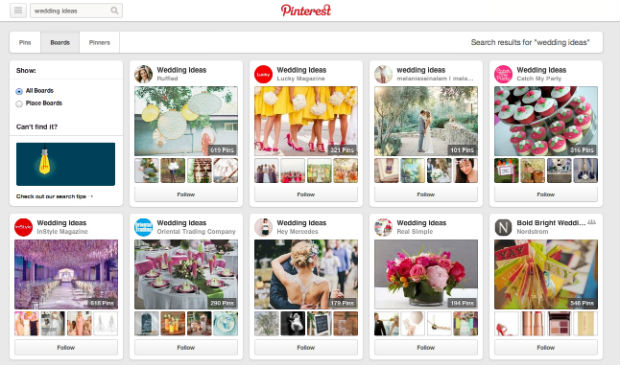 Pinterestのボード「wedding ideas」