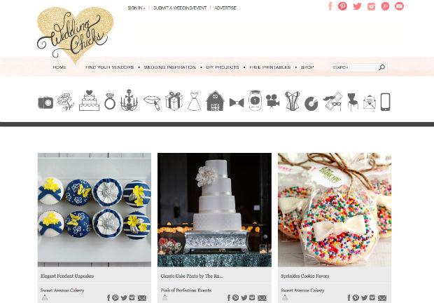 海外ウェディングサイト「weddingchicks」