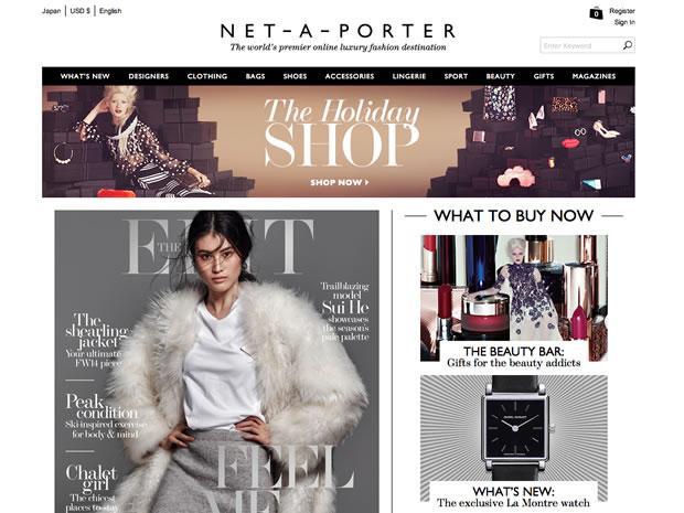 ファッション通販サイトNET-A-PORTER.COM