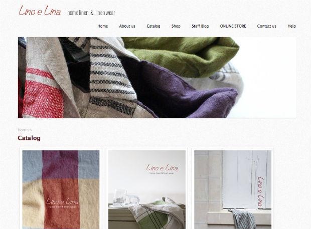 Lino e Lina(リーノエリーナ)のリネンアイテム