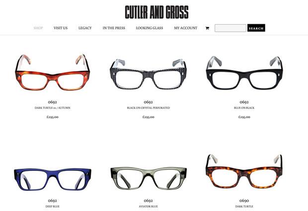 カトラー アンド グロス(CUTLER AND GROSS)のメガネ